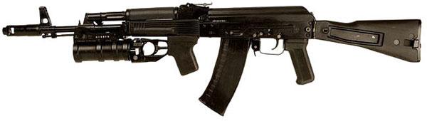 Разборка автомата АК-47 (Калашников)