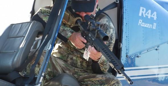 Самара: Незаконная охота с вертолета