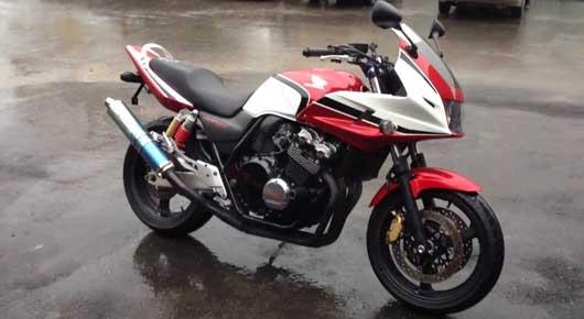 Мотоцикл Honda CB 400 характеристики и описание