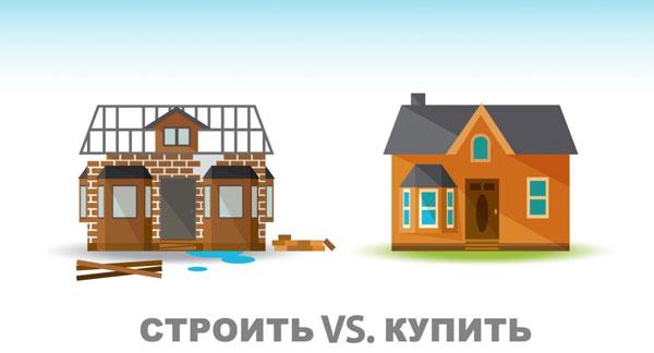 Построить дом или купить?
