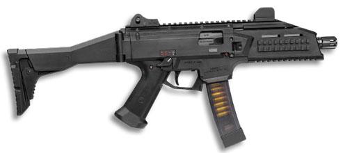 Пистолет-пулемет от CZ Scorpion - характеристики видео