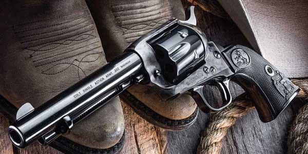 Револьверы кольт - истоки легендарной серии