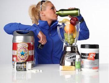 Спортивное питание и приемы для быстрого набора мышечной массы