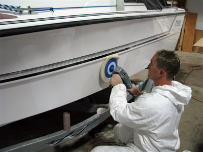 preparation of the boat