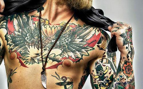 Татуировки повышают иммунитет - вывод ученных