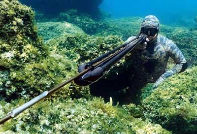 Подводный охотник выбирает снаряжение