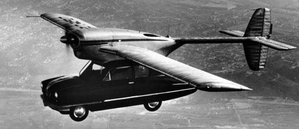 Испытания первого летающего автомобиля проведут в 2017 году