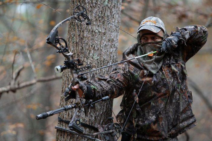 Видео охота с луком на Лося