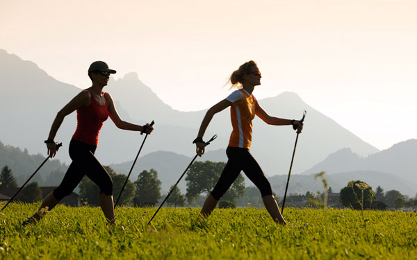 Скандинавская ходьба - способ улучшить самочувствие