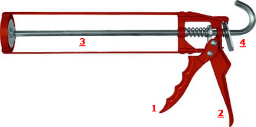 Пистолет для герметика - как использовать