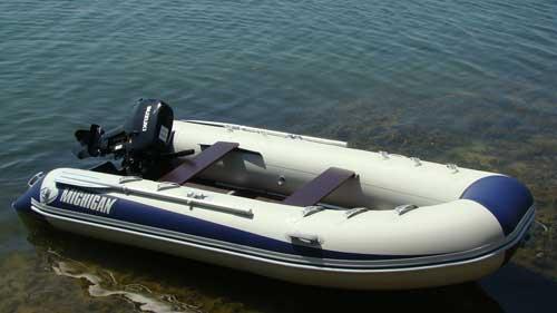 Надувные резиновые лодки, виды и характеристики