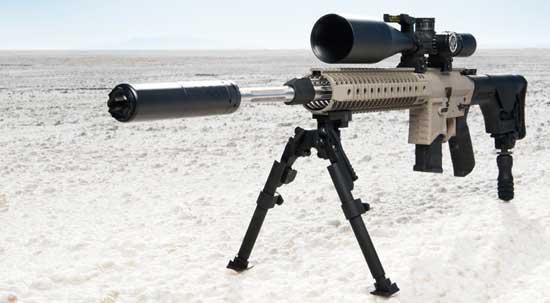 Глушитель для охотничьего оружия