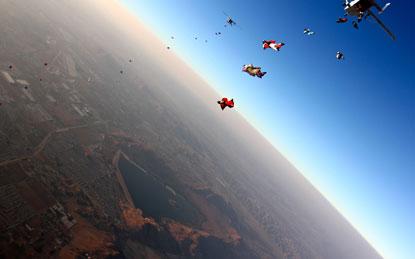 Прыжки с парашютом, покорить небо