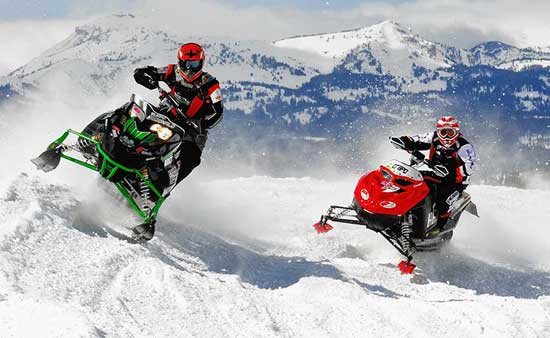 Снегоходы – востребованный вид транспорта