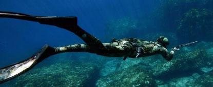 Подводная охота, видео и подробное описание