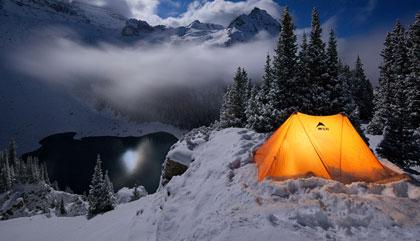 Ночевка зимой в лесу, как выжить?