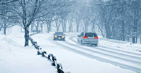 Зимняя эксплуатация авто, вождение зимой