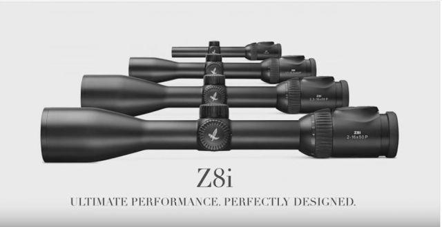 Swarovski Optik Z8i - прицелы 2016 года