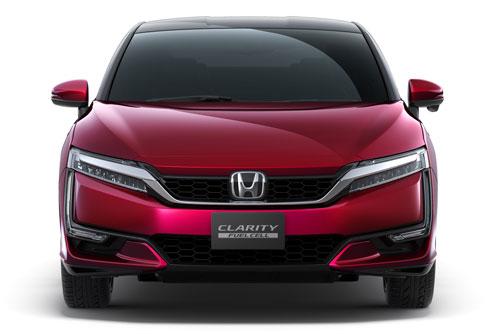 Clarity Fuel Cell - водородный автомобиль от Honda