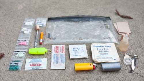 Состав аптечки первой помощи для похода