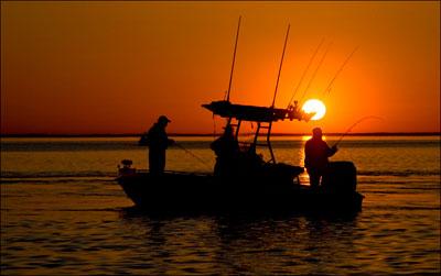Ловля рыбы с лодки видео