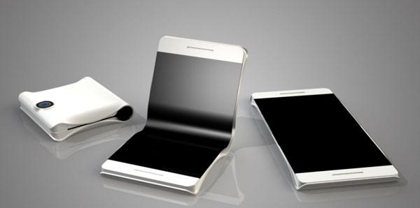 Смартфон раскладушка будущего от Samsung