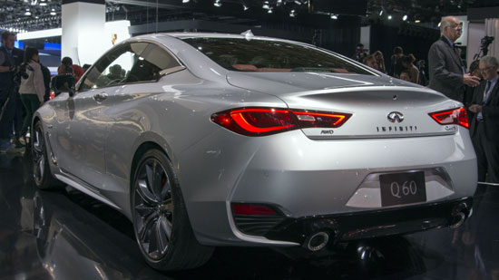 Россиянам назвали цену Infiniti Q60 Coupe