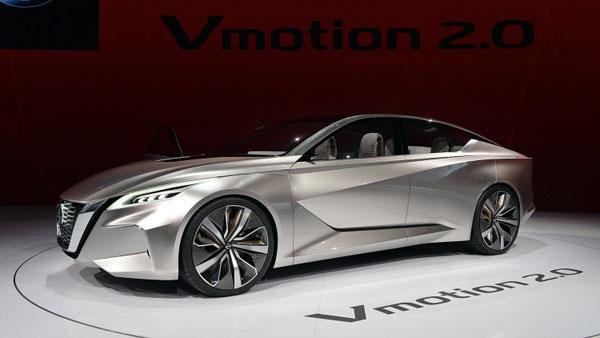 Nissan Vmotion 2.0 получил награду EyesOn Design Детройт 2017