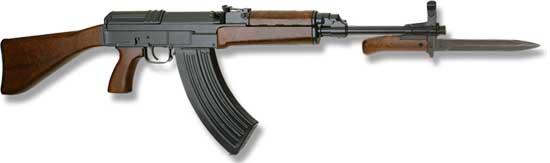 Автомат SA VZ. 58 от CZ, военный автомат