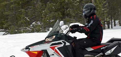 Шлем для снегохода. Защита водителя при езде