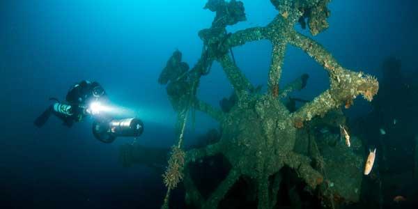 Подводный фонарь для охоты