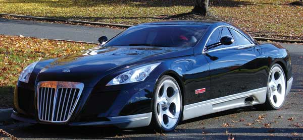 Maybach Exelero на улице