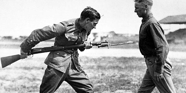 Боевой штык - история и применение в бою