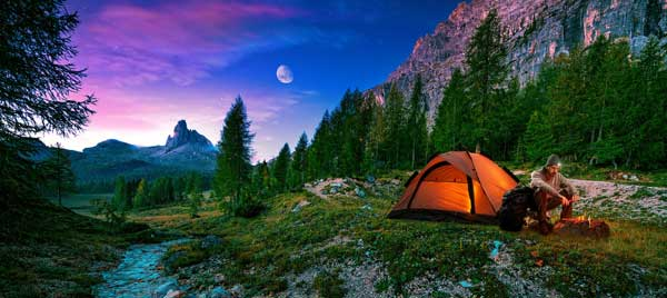 Кемпинг - правильный отдых на природе