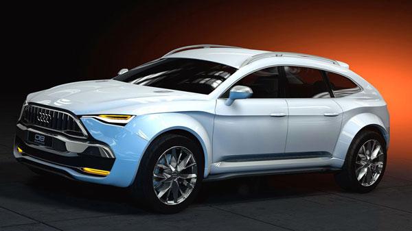 Audi привезёт в Женеву спортивный кроссовер Q8