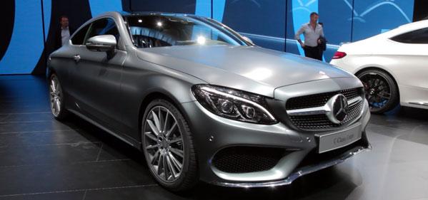 Обновленное купе Mercedes-Benz C-Class