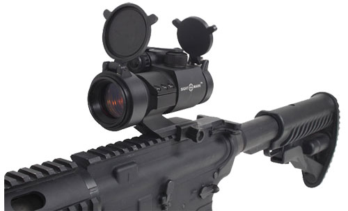 Коллиматор Sightmark Tactical Red Dot Sight на карабине