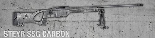 Снайперская винтовка Steyr ssg 08, Carbon - описание и видео
