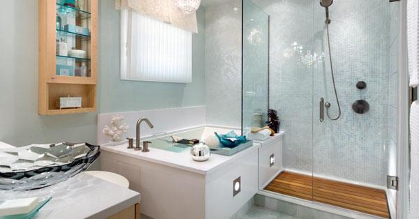 Отделка стен в ванной комнате: выбор материала